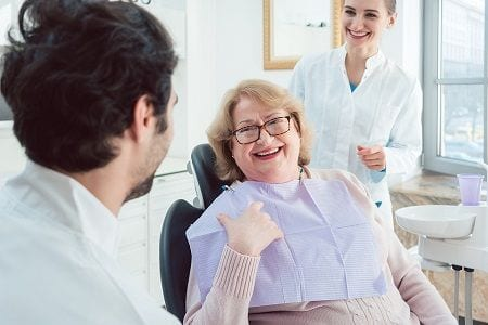 Orange County elderly dental care